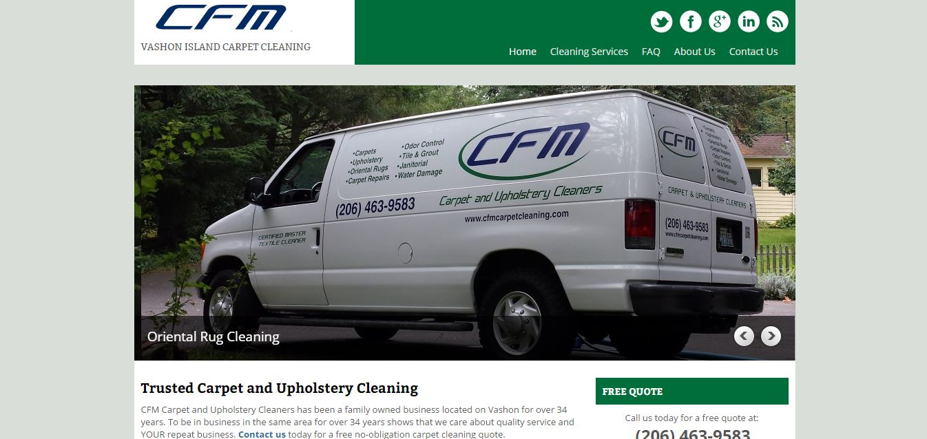 Carpet Cleaning: CFM