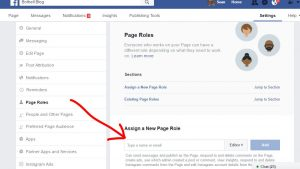 How to add and admin to a Facebook page